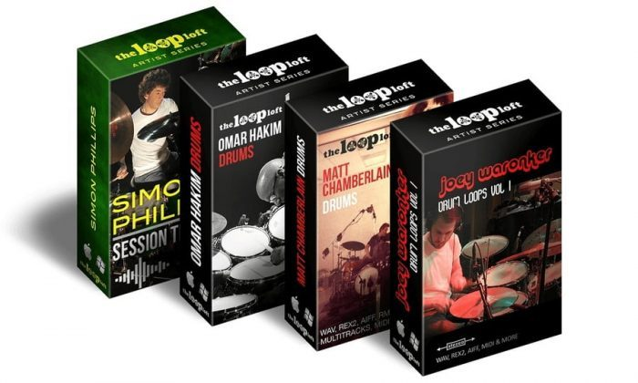 The Loop Loft All-Star Multitrack Drum Sessions Bundle