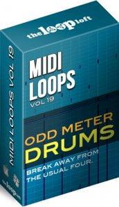 The Loop Loft MIDI Loops Odd Meter Drums Vol 2