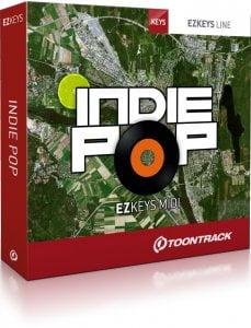 Toontrack Indie Pop EZkeys MIDI