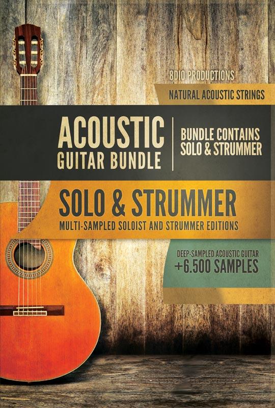 8Dio Acoustic Guitar Solo & Strummer