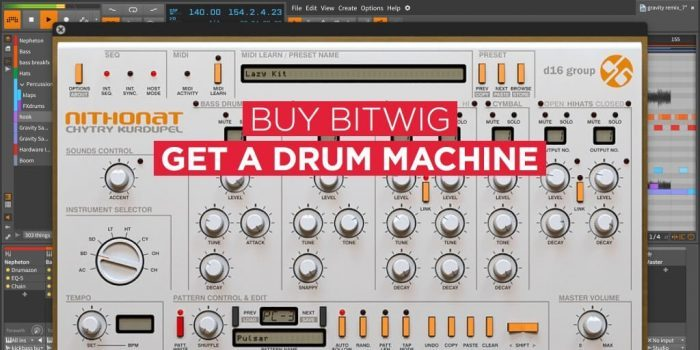 Bitwig D16 Group