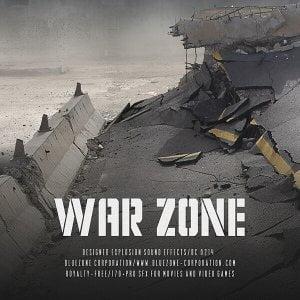 Bluezone War Zone Designed Explosion Sound Effects