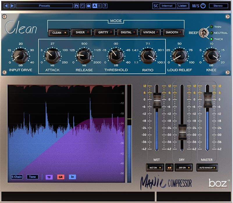 Manic Compressor by Boz Digital Labs on sale for $29 USD