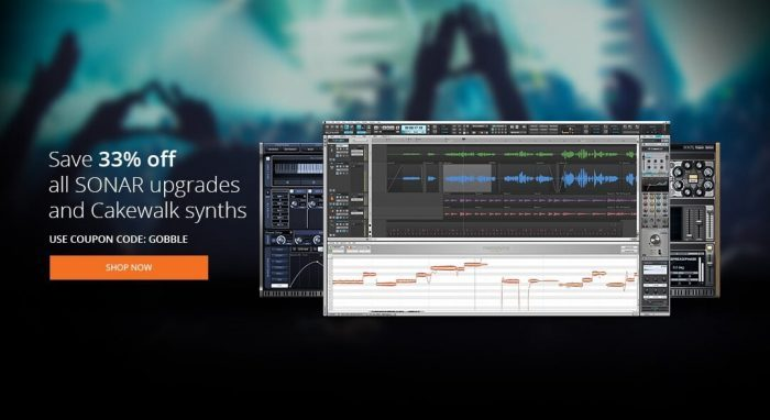 Cakewalk SONAR upgrades and synths