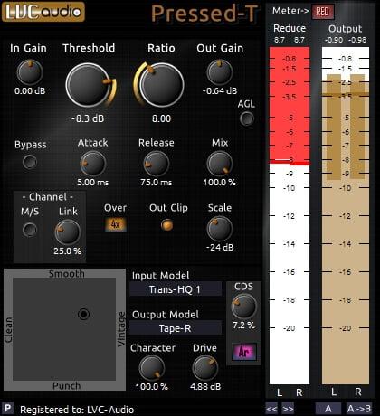 LVC Audio Pressed-T