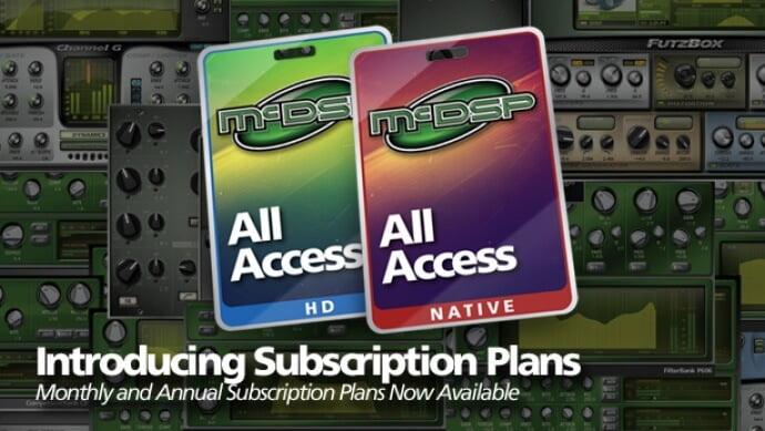 McDSP All Access Subscriptions