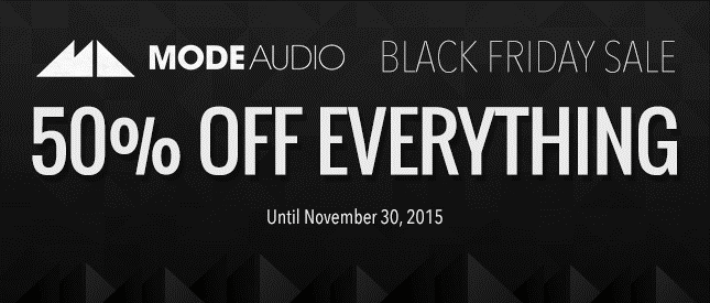 ModeAudio Black Friday Sale