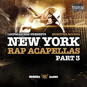 Monster Sounds New York Rap Acapellas Part 3