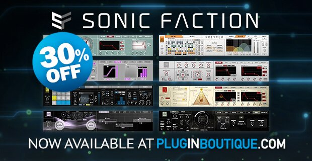 Plugin Boutique Sonic Faction Sale