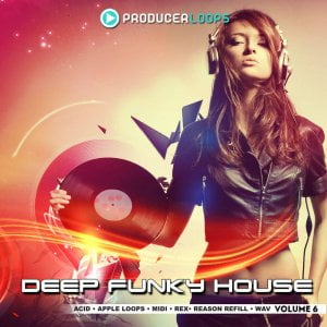 Producer Loops Deep Funky House Vol 6
