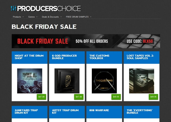 Producers Choice sale