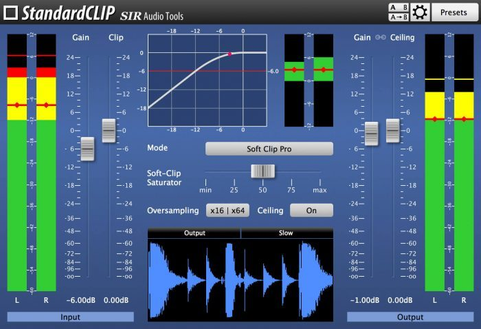 SIR Audio Tools StandardCLIP 1.2