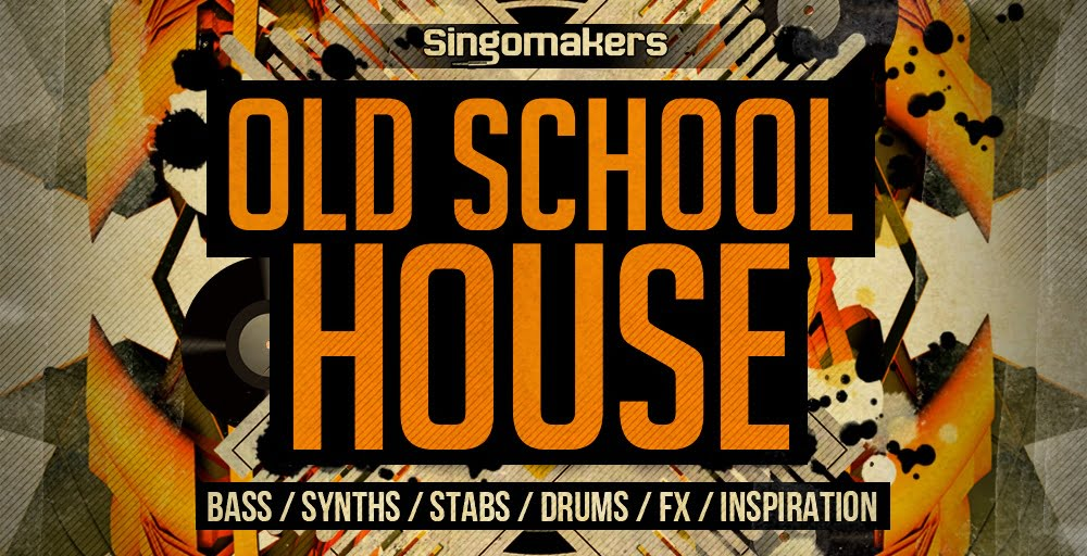 Singomakers old school house sample pack released for Classic house sample pack