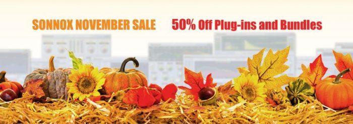 Sonnox November Sale
