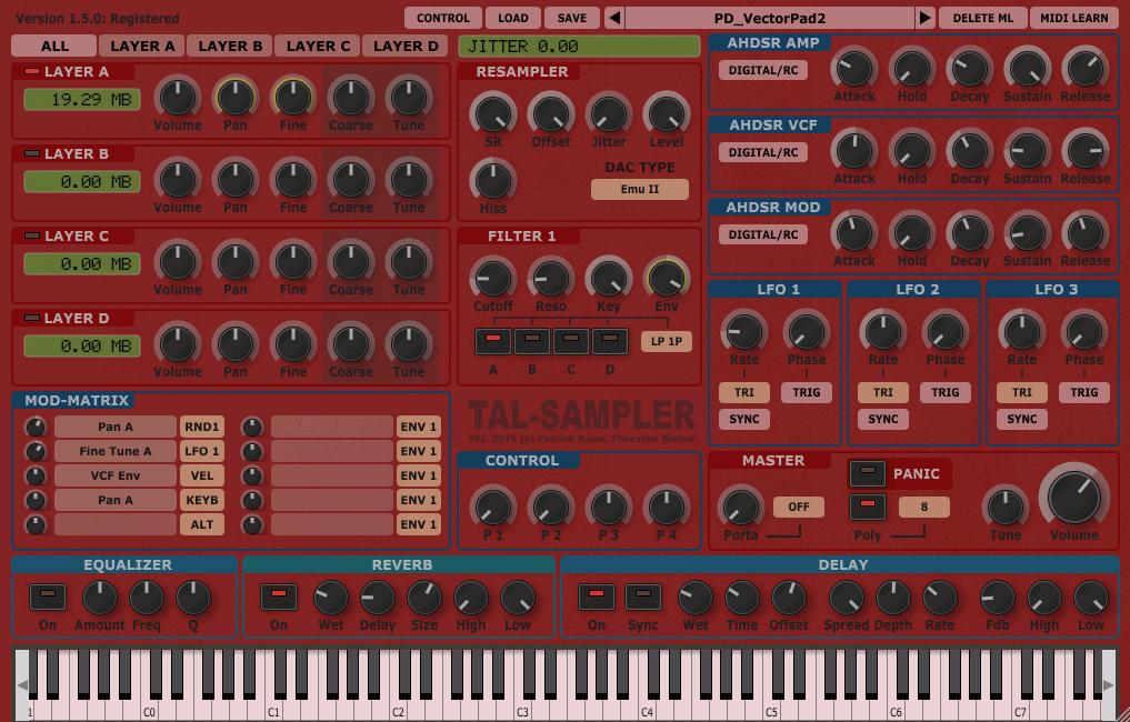 TAL-Sampler (red)