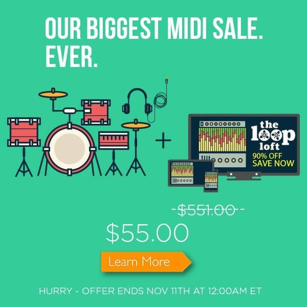 The Loop Loft MIDI Bundle Sale
