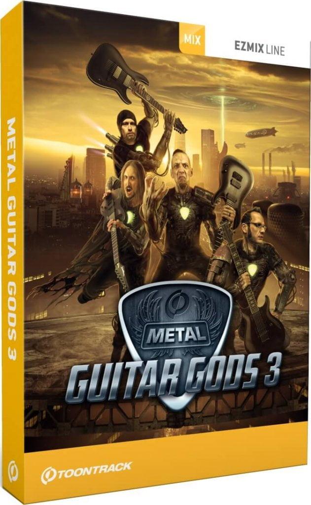 Toontrack Metal Guitar Gods 3