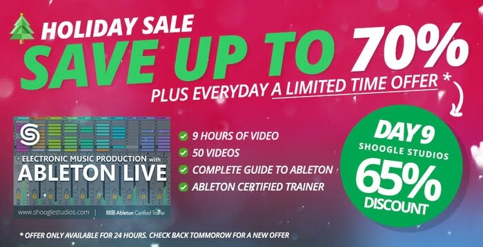 ADSR Electronic Music Production with Ableton Live sale