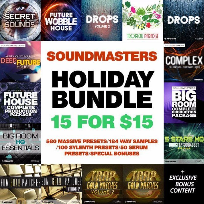 ADSR SoundMasters Holiday Bundle