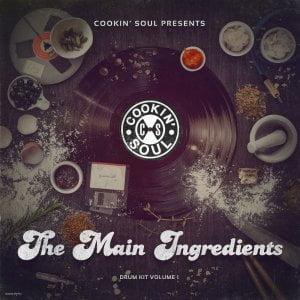 Cookin Soul The Main Ingredients Drum Kit Vol 1
