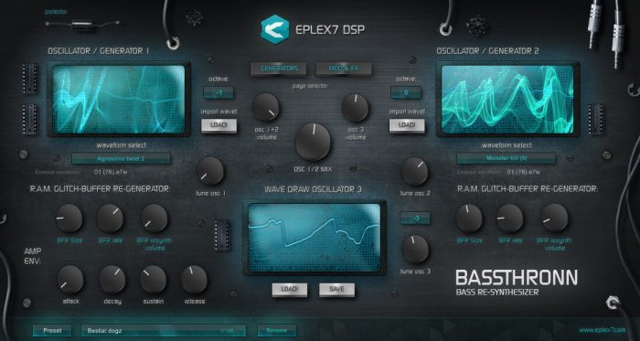 Eplex7 DSP Bassthronn
