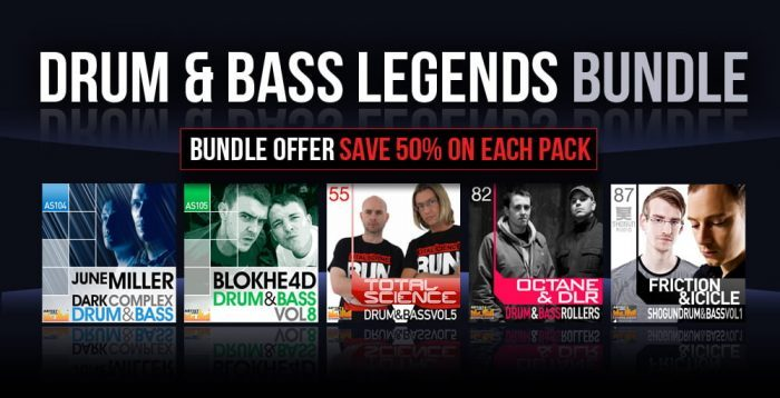 Loopmasters Drum & Bass Legends Bundle