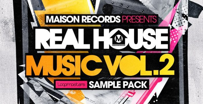 Loopmasters Maison Records - Real House Music Vol.2