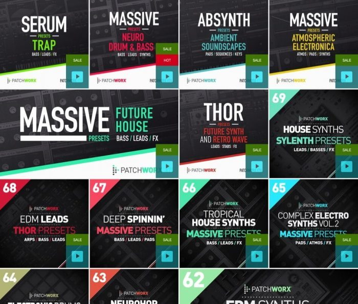 Loopmasters Patchworx Flash Sale