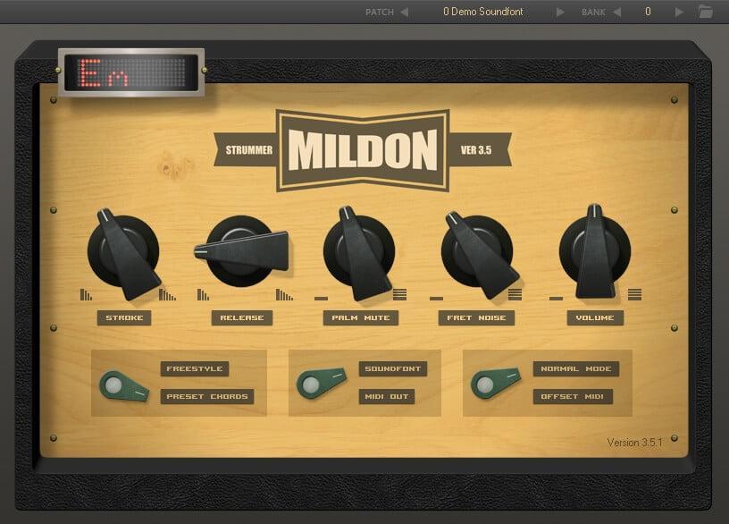 Mildon Strummer 3