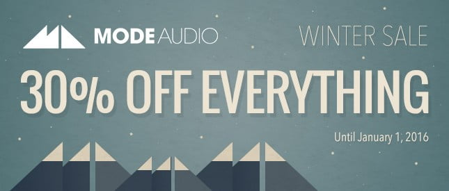 ModeAudio Winter Sale