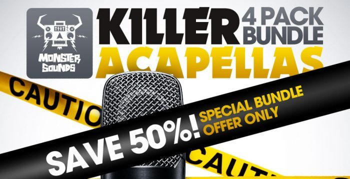 Monster Sound Killer Acapellas Bundle