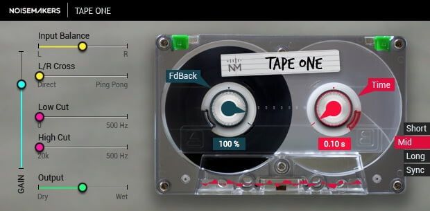 Noise Makers Tape One
