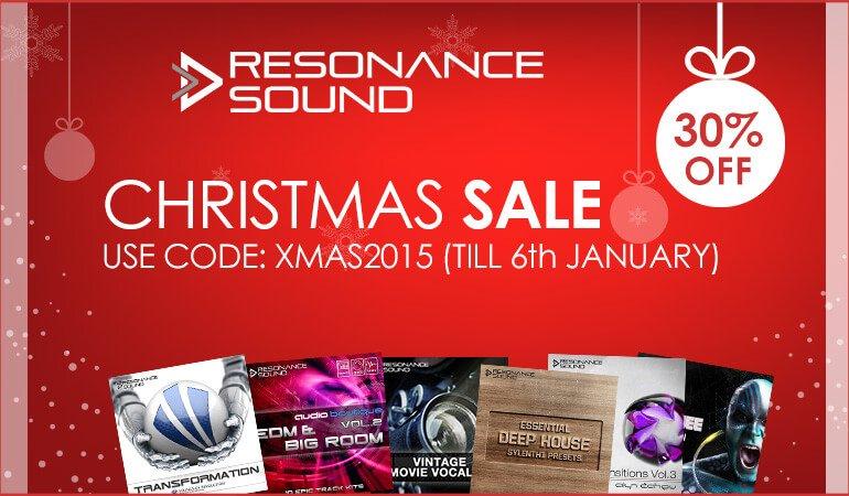 Resonance Sound Christmas Sale 2015