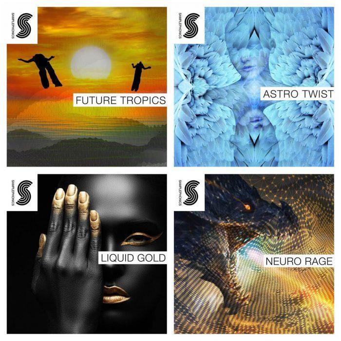 Samplephonics Astro Twist, Future Tropics, Liquid Gold & Neuro Rage