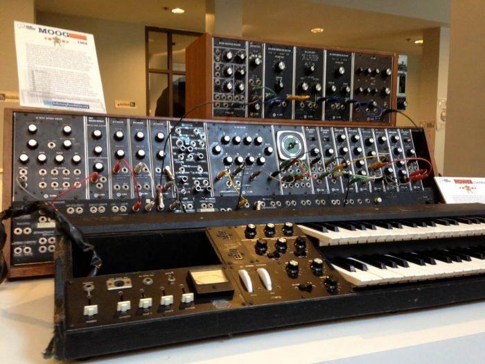 Bob Moog Foundation vintage synths