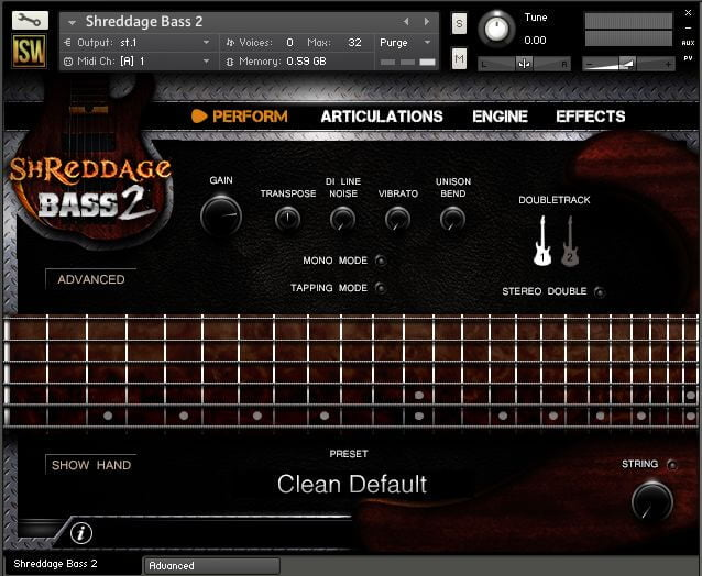 Impact Soundworks Bass Shreddage 2