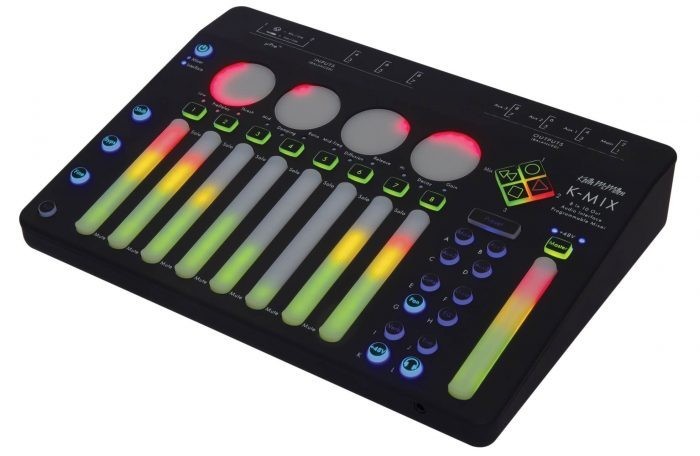 Keith McMillen Instruments K-Mix angle