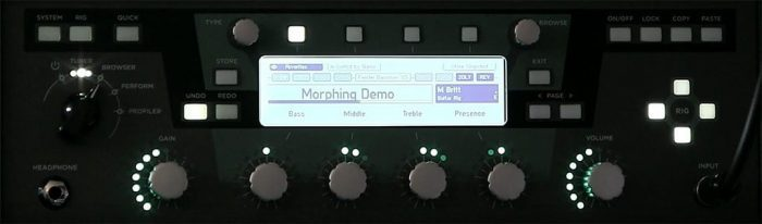 Kemper Profiles OS 4.0 Morphing