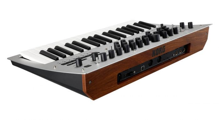Korg Minilogue back angle