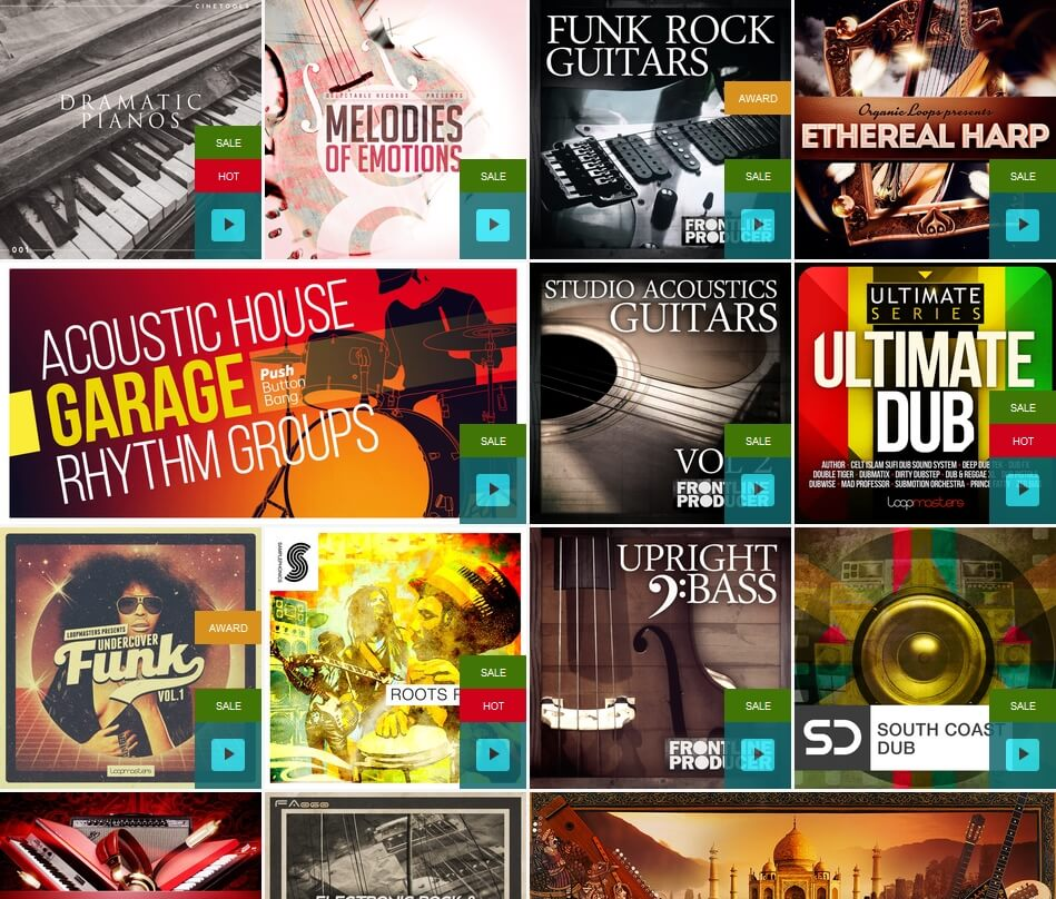 Loopmasters Instruments Flash Sale