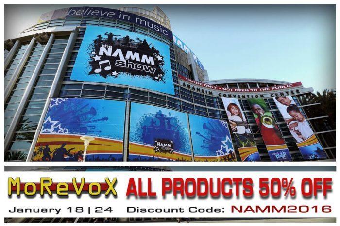 Morevox NAMM sale