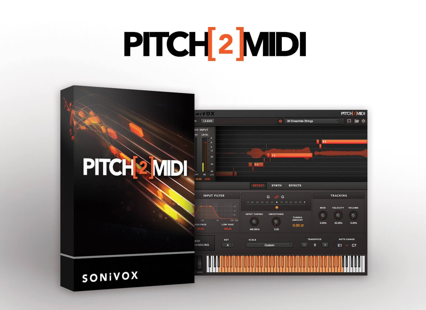 Sonivox Pitch2midi