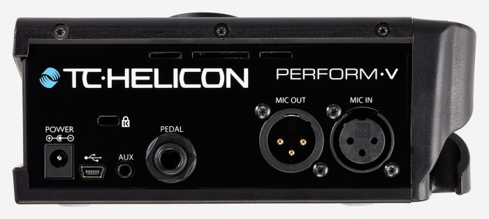 TC-Helicon Perform-V back