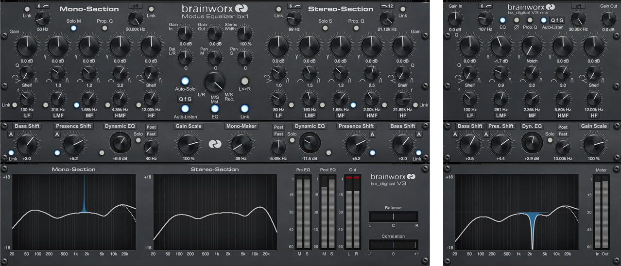 Uad software v85 available now at universal audio uad brainworx bx digital v3 stopboris Image collections