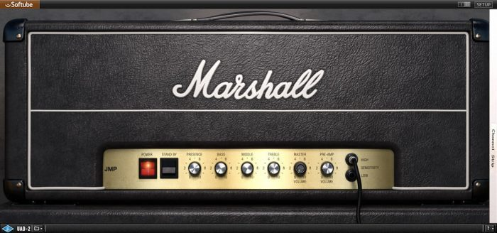 UAD marshall jmp 2203 channel