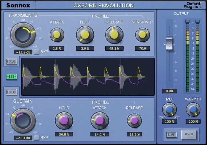 UAD sonnox oxford envolution