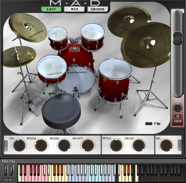 VST Buzz Mad Drums