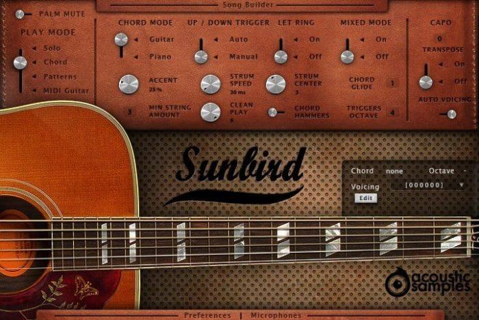 Acoustic Samples Sunbird