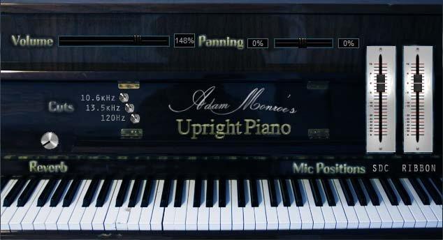 Adam Monroe's Upright Piano