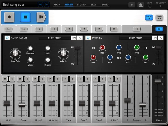 Arturia iSpark effects